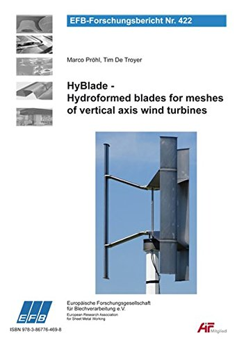 HyBlade - Hydroformed blades for meshes of vertical axis wind turbines (EFB-Forschungsbericht) -