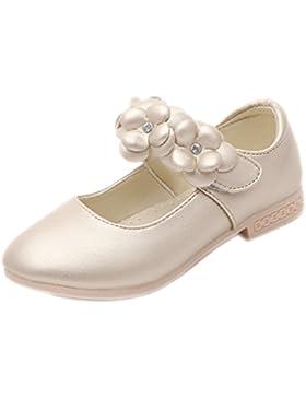 La Vogue Zapatos Princesa de Niña Flor para Boda Cumpleaños