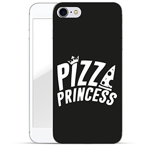 finoo   iPhone 7 Hard Case Handy-Hülle mit Motiv   dünne stoßfeste Schutz-Cover Tasche in Premium Qualität   Premium Case für Dein Smartphone  Pizza Princess