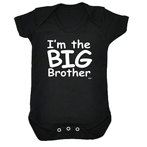 Big-brother-baby-strampelanzug (123t Lustiger Baby-Strampler - Jumpsuit Strampelanzug, Geschenk, Neuheit 1273 Gr. 3-6 Monate, Im The Big Brother Baby)