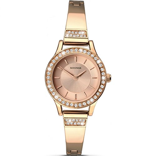 Sekonda Damen Analog Uhr mit Legierung Armband 2203.27
