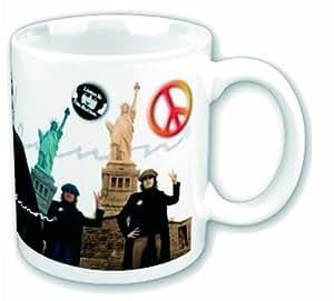 John Lennon Mug, Peace And Liberty