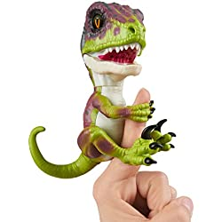 Wow Wee Fingerlings - Dinosaurio Velociraptor indomable
