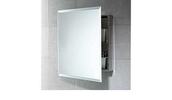 Kvstore® armadietto specchio contenitore bagno e medicinali primo