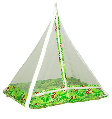 Jack & Jill Baby Happy Cradle Swing Jhula With Mosquito Net