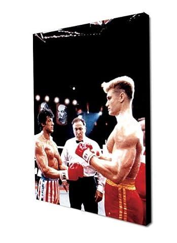 Rocky 4Rocky vs Drago Film Leinwand 61x 40,6cm