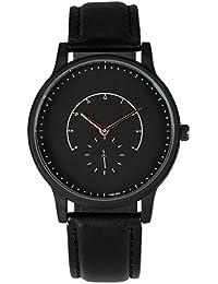 AMPM24 WAA1000 - Reloj Hombre Analógico Simple Cuarzo de Negro
