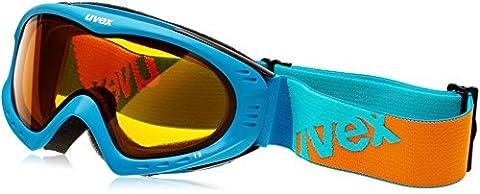 UVEX Skibrille F 2, Petrol/Orange/Lasergold Lite, One size,
