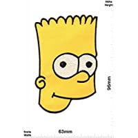 Ass Bart Simpson zum aufb/ügeln Iron On Cartoon Patch Simpson Aufn/äher