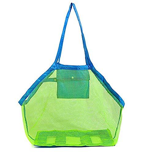 Juguetes de la playa de almacenamiento de bolsa de red niños al aire libre bolsa de almacenamiento grande bolsa de almacenamiento para la natación canotaje
