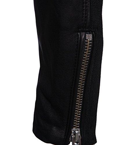 IRO Damen Lederjacke Gipsy Bikerjacke Jacke Leder – Leder – schwarz black 42 - 5
