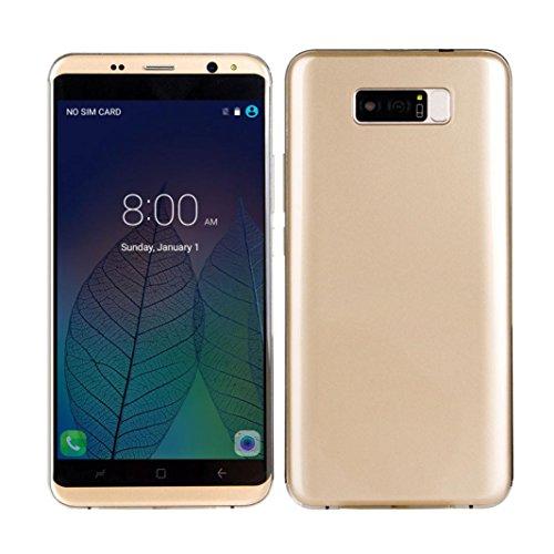 AMH de SIM Free Smartphone, 5.5Inch 3G Smartphone Dual SIM Android...
