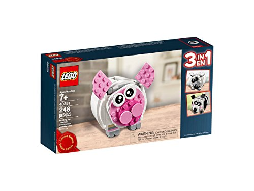Lego Exklusiv - 40251 Mini-Sparschwein 3 in 1 Limited Edition