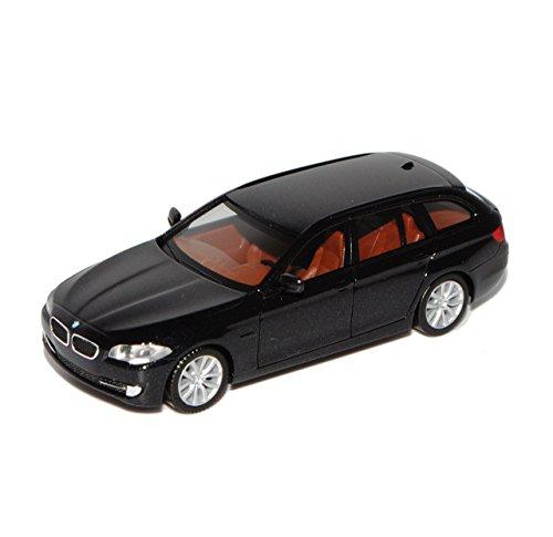 BMW 5er F11 Touring Kombi Schwarz 2010-2016 H0 1/87 Herpa Modell Auto
