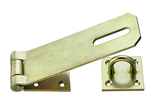 Connex Sicherheitsüberfallen mit Öse 160 x 55 mm, verzinkt, DY2204561 (Schlösser Und Riegel)