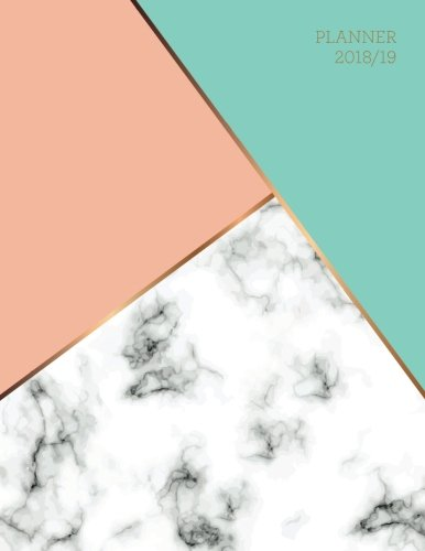 Read Planner 2018 2019 Marble Gold Design