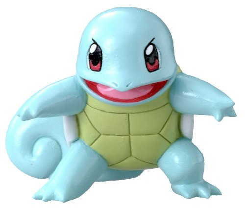 Pokemon: Best Wishes! (Schwarz + Weiß) Monster Collection Figur: Schiggy / Squirtle
