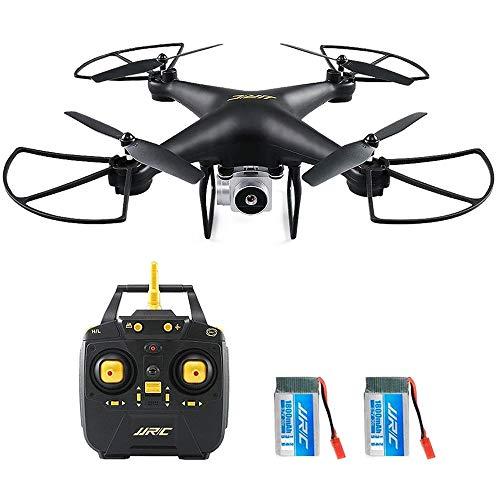 Drohne mit Kamera,JJRC H68 WiFi FPV Drohne Weitwinkelobjektiv 720P HD Kamera Intelligente Quadcopter, Höhenmodus One Key Return für Spielzeug Geschenk Fernsteuerungs Flugzeug (1800mAh 2 Batterie)