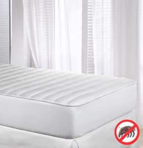 Velfont Anti-dustmite Reversible Quilted Mattress Protector