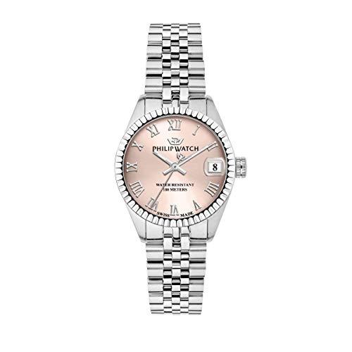Philip Watch Orologio da donna, Collezione Caribe, funzione tempo e data, in acciaio - R8253597550