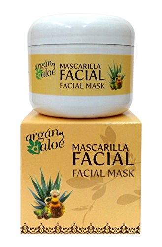 Argan-Aloe 70070 - Mascarilla facial aloe argán
