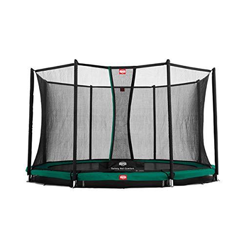 Berg Toys 35.11.04.00 Trampolin Inground Favorit mit Sicherheitsnetz Comfort