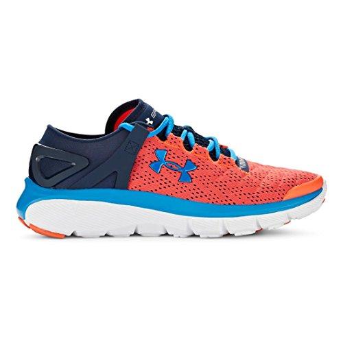 Under Armour Kids Boy's UA Bgs Speedform Fortis Sneaker Red/Blue/Navy/White