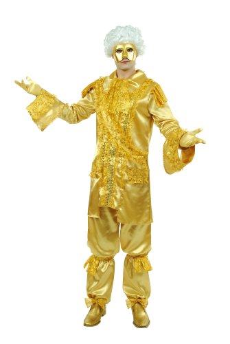 Cesar b075-004 - costume da marchese, colore: oro