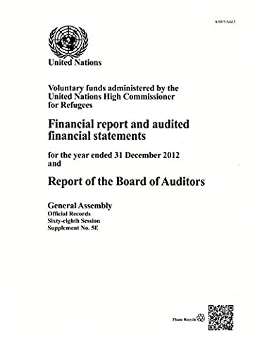 Report of the Board of Auditors: 68th Sess Supplement No. 5e - Voluntary Funds Administered by the United Nations High Commissioner for Refugees