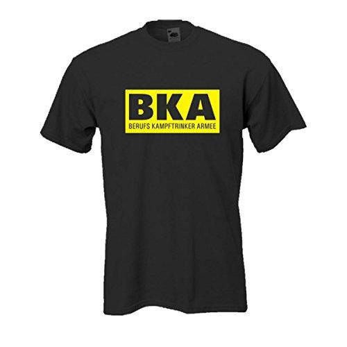 Berufs Kampftrinker Armee, bedrucktes T-Shirt mit lustigem witzigen Spruch Spaß Geschenk oder Party Gag auch große Größen Funshirt S-5XL (FSB041) Mehrfarbig