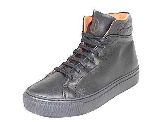 Armani Z55B7, Sneaker donna, Nero, 39