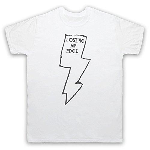 Inspiriert durch LCD Soundsystem Losing My Edge Unofficial Herren T-Shirt, Weis, Small Edge-lcd