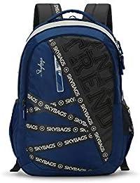 Skybags Figo Plus 01 34 Ltrs Blue Casual Backpack (FIGO Plus 01)