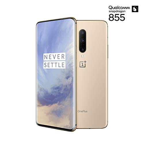 OnePlus 7 Pro Smartphone Almond (16,9 cm) AMOLED Display 8 GB RAM + 256 GB Speicher, Triple Kamera (48 MP) Pop-up Kamera (16 MP) - Dual SIM Handy