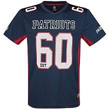 NFL New England Patriots Camiseta Azul Marino XL