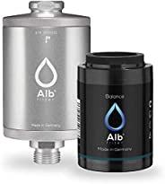 Alb Filter® Balance Shower Filter for Healthy and Shiny Hair & Skin with Mineral Mix Made in Ger
