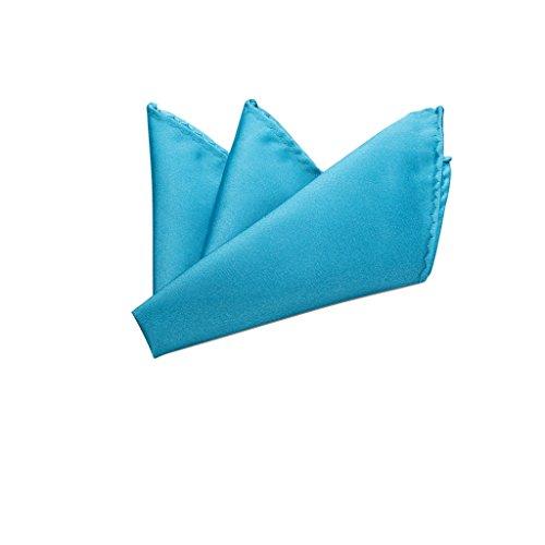 (Rusty Bob - Einstecktuch einfarbig - Tuch aus Polyester - Kavalierstuch Pochette Stecktuch - Taschentuch - Royalblau)