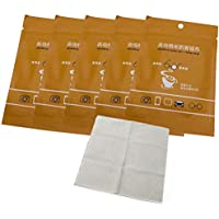 BSTOB 5 Piezas de toallitas antivaho para Gafas Toallitas antivaho Reutilizables para anteojos Toallitas antivaho Paño desempañador para anteojos y Gafas