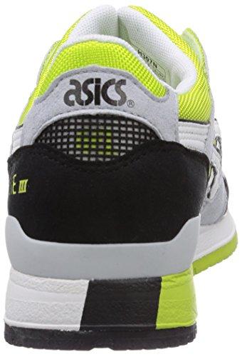 ASICS Gel-Lyte III Unisex-Erwachsene Traillaufschuhe Weiß (0101-White/White)