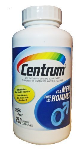 Centrum For Men - 250 Tablets (Value Pack) by Centrum -