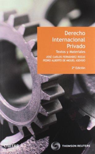 Derecho internacional privado (Textos y Materiales)