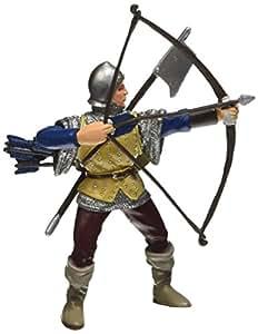 Papo - 39385 - Figurine - Archer - Bleu