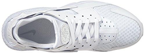 Nike Herren Air Huarache Sneakers Weiß (White/White-Pure Platinum)