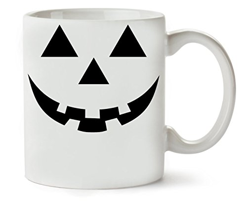 Halloween Smiling Angry Klassische Teetasse Kaffeetasse
