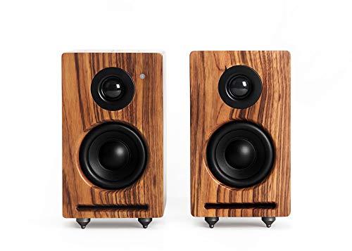 RÖTH & MYERS Twin Speakers HiFi - Altavoces WiFi/Bluetooth. Altavoces de estantería....