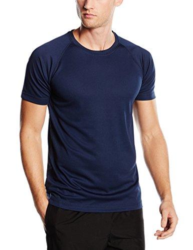 Stedman Apparel Herren T-Shirt Active 140 Raglan/st8410 Marina Blue