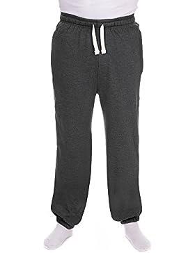 Red Tag - Pantalón - para hombre negro gris oscuro XXXL