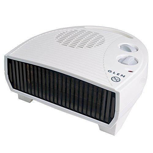 41X6aR66FhL. SS500  - Glen GF30TSN 3KW Fan Heater, Plastic, 3000 W, White