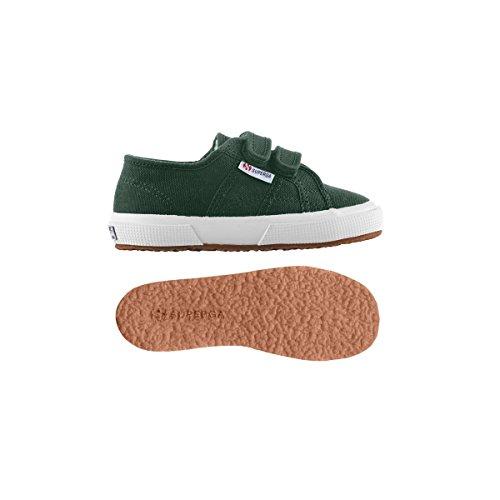 Superga 2750 Cobinvj, Unisex-Kinder Sneakers Green Pine