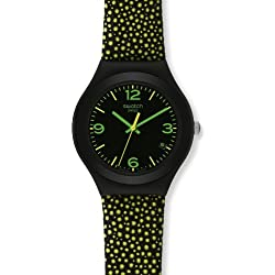 Swatch Women's Analogue Watch with multicolour Dial Analogue Display - YGB4004